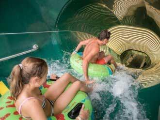 Aqua Mundo in vakantiepark Le Bois aux Daims