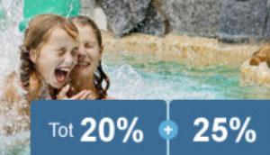 Sunparks: Tot 20% vroegboekkorting