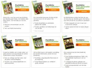 Pack & Go Vakanties: Complete vakantie tegen een scherpe prijs