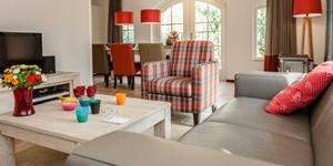 Inrichting van een luxe bungalow van Landal GreenParks