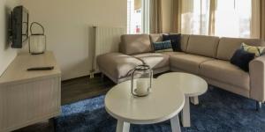 Inrichting luxe bungalow van Roompot