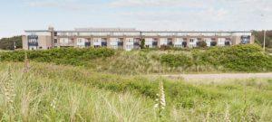 Aanzicht appartementen van Landal Ameland State