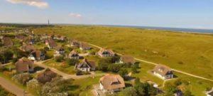Uitzicht op huisjes van Roompot Boomhiemke
