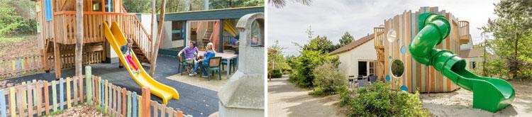De Nieuwe generatie Kindercottages bij Center Parcs zijn echt heel leuk voor gezinnen met kinderen. Boeken kan bij De Eemhof, Het Meerdal en Port Zélande.