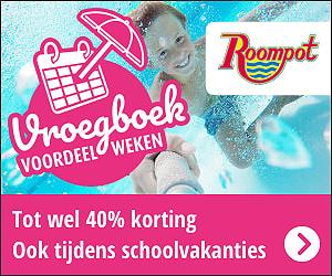 Roompot Vroegboek Voordeel Weken, tot 40% vroegboekkorting