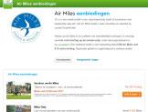Tot € 60 extra korting met Air Miles