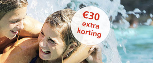 Profiteer van € 30 extra korting