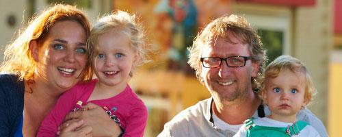 Vakantiepark Dierenbos: Profiteer van 20% jonge gezinnen korting