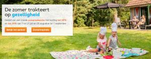 Landal GreenParks: Tot 25% korting