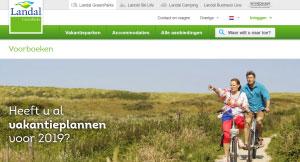 Vakantie boeken bij Landal voor 2019? Dat kan met een voorboeking