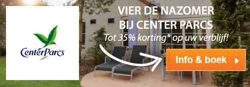 Vier de nazomer bij Center Parcs, Tot 35% korting* op uw verblijf, Info & boek