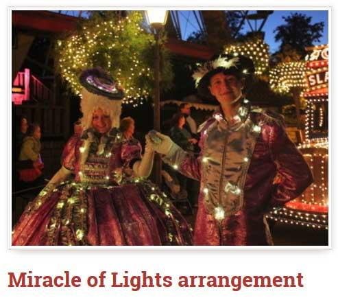 Slagharen Miracle of Light arrangement is inclusief diverse extra's
