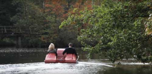 Waterfietsen is één van de leukste activiteiten om te ondernemen bij Landal Het Vennenbos