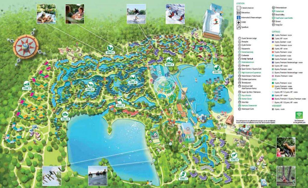 Center Parcs De Eemhof Plattegrond.Centerparcs Parken Kaart Information And Ideas Herz Intakt