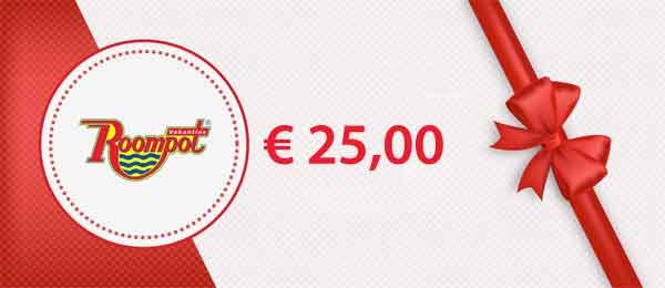 Vakantiecheque € 25 Korting