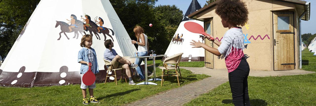 Wigwam Deluxe Vakantiepark Slagharen