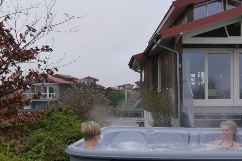 8-Persoonsbungalow Goudplevier Wellness Plus, Roompot Waterpark Zwartkruis (Friesland)
