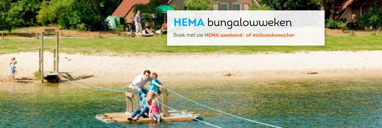 Landal Hema Bungalowvoucher voor extra voordelig weekend of midweek