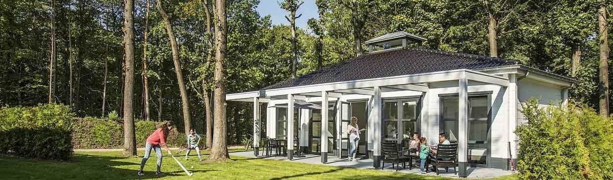 Jan des Bouvrie villa's op Landal Mooi Zutendaal