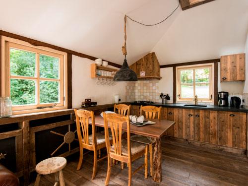 Keuken, boomhut Landal Miggelenberg