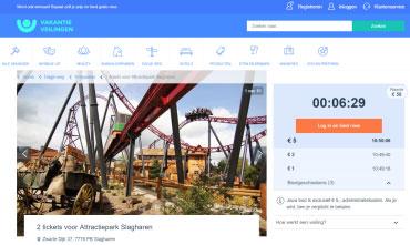 Bied mee op Attractiepark Slagharen tickets vanaf 1 euro