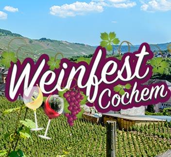 Weinfest Cochem 2018: vanaf € 367*