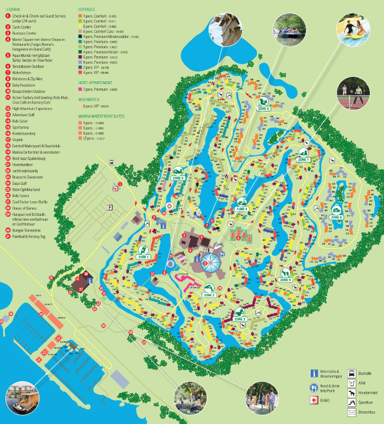 Plattegrond Center Parcs De Eemhof PDF