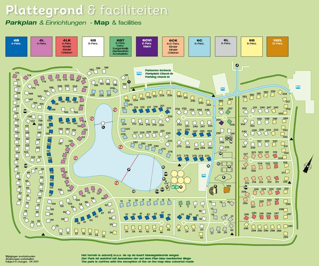 Plattegrond Landal Landgoed 't Loo