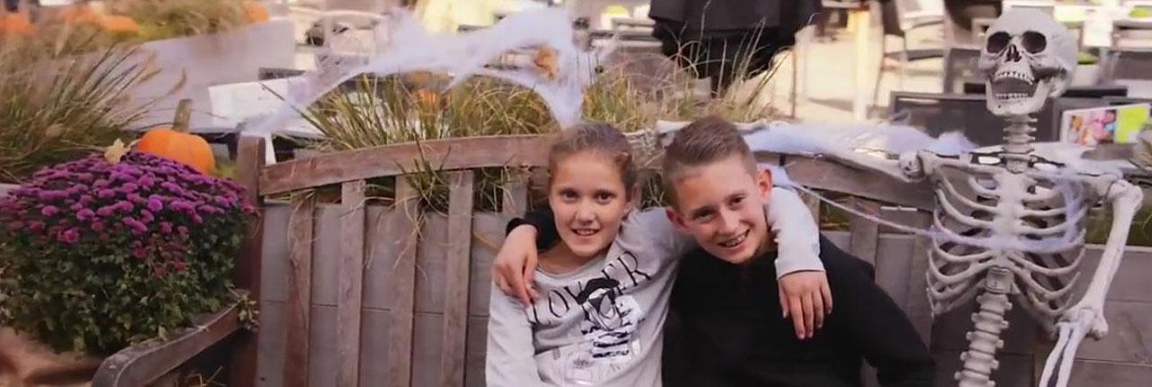 Roompot Weerterbergen: Super toffe Halloweensfeer & Spookhuis!