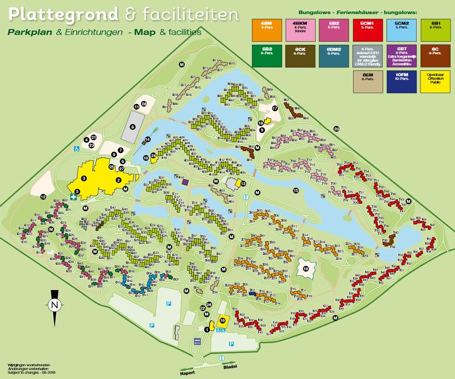 Plattegrond Landal Het Vennenbos