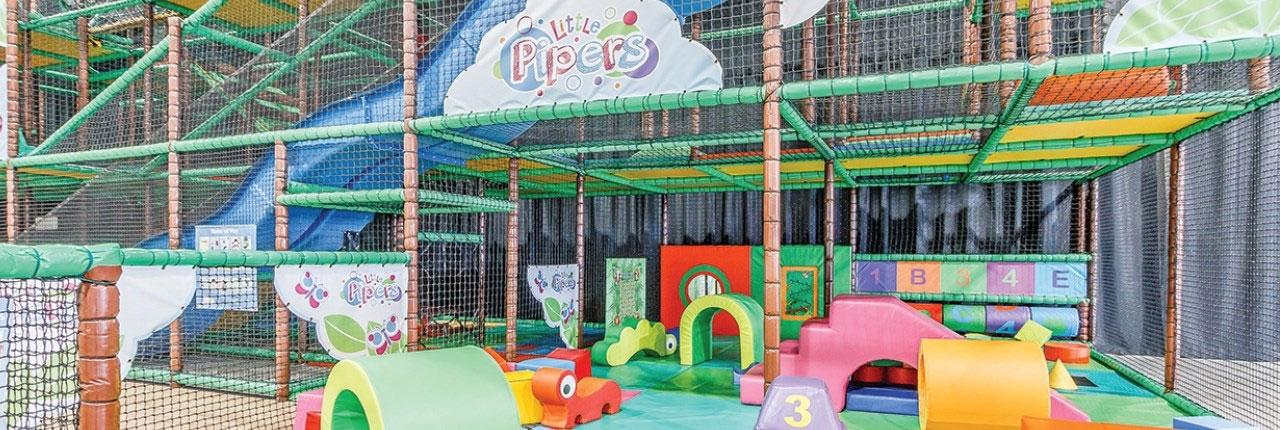 Leuk indoor speelparadijs, maar toegang is tegen betaling