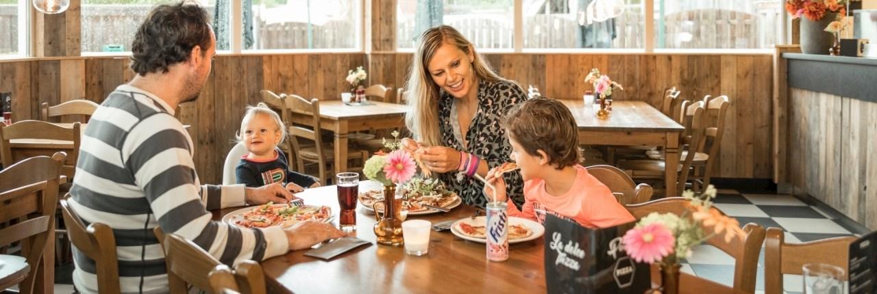 Landal parken met babyvriendelijke restaurants