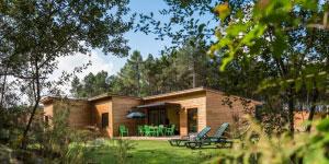 Cottage op een park van Center Parcs in Frankrijk