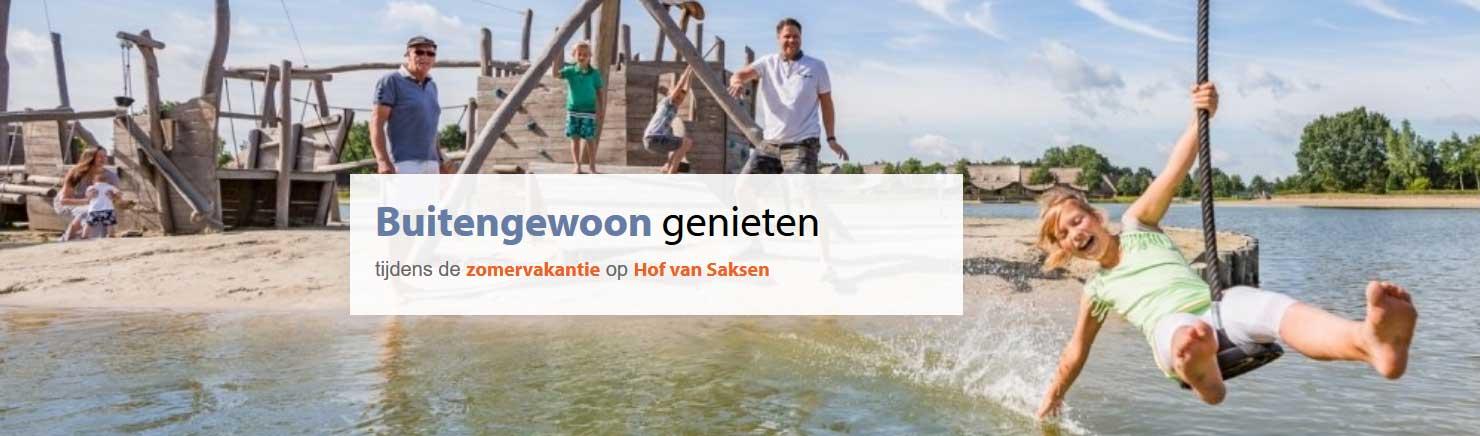 Hof van Saksen: Luxe zomervakantie met tot 20% korting