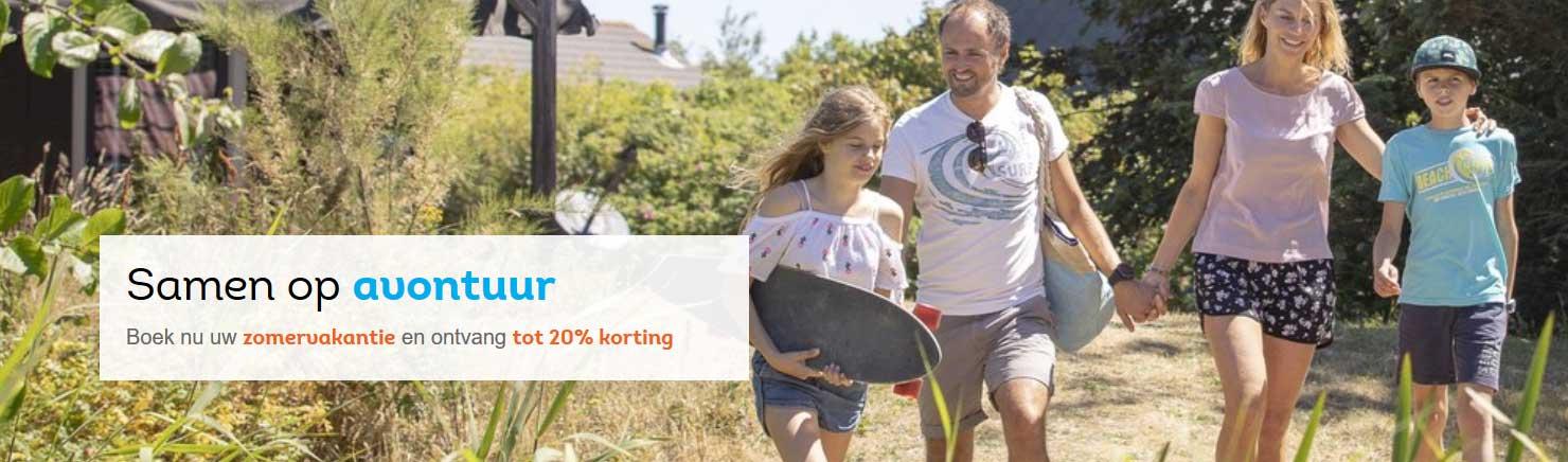 Landal GreenParks: Tot 20% vroegboekkorting
