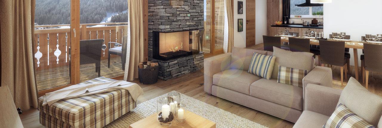 Kom heerlijk tot rust in je luxe appartement na een actieve dag
