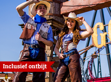 Wild West inclusief ontbijt v.a. € 149*