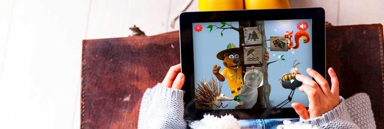 Leuk voor kinderen: Vernieuwde Bollo-app