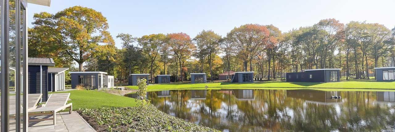 Landal De Vlinderhoeve is een nieuw vakantiepark in Gelderland met luxe bungalows en de loop van 2019 ook diverse faciliteiten