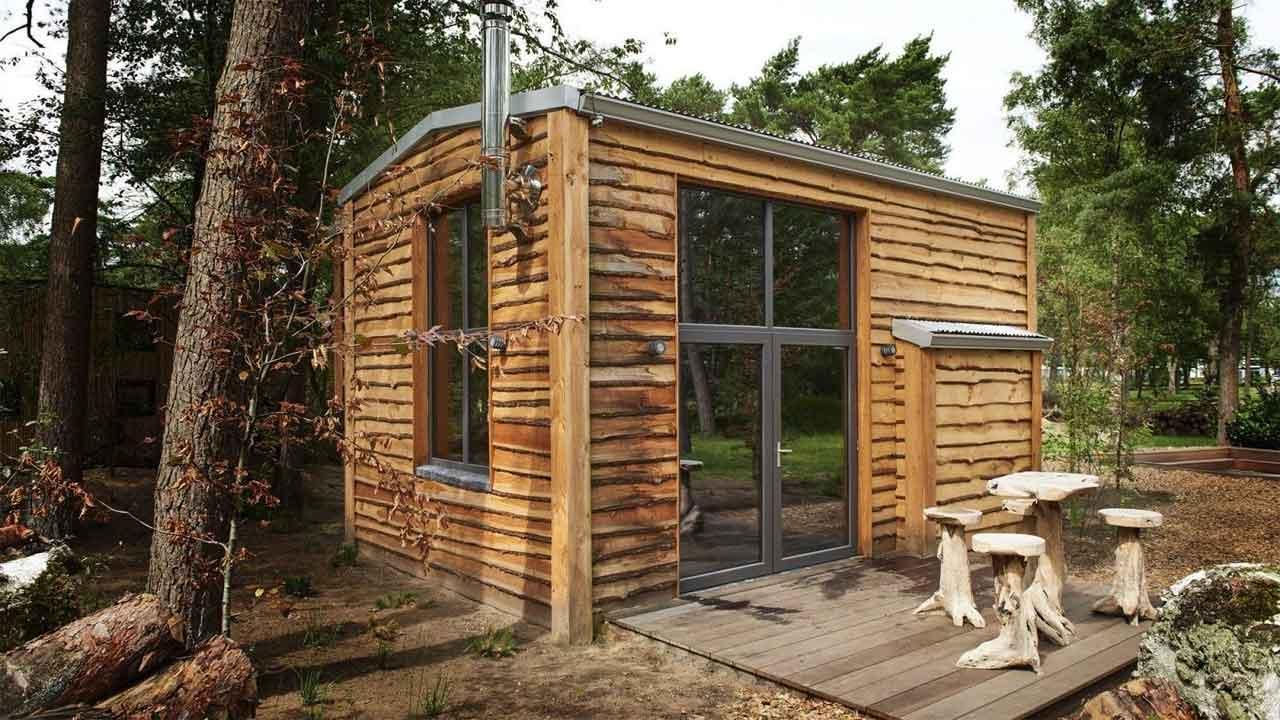 Tiny House Plus TH4 4 personen Droomparken De Zanding