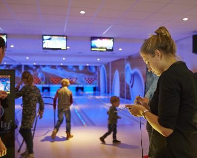 De bowlingbaan van Vakantiepark De Leistert