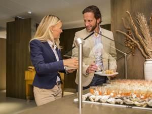 Self-service restaurant Al Fresco, Hof van Saksen