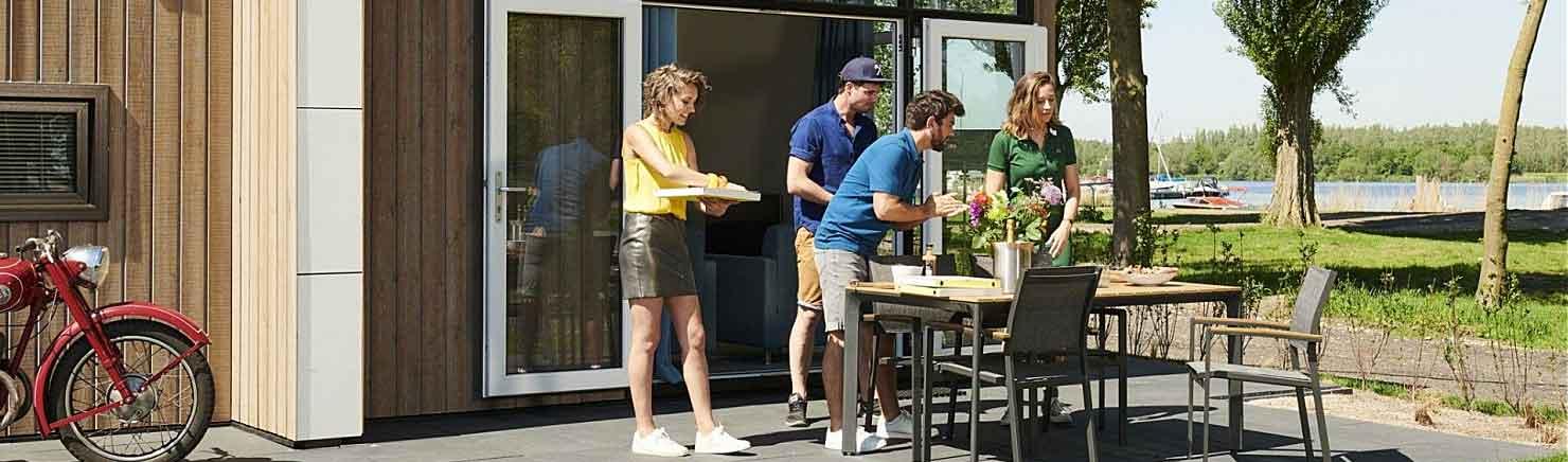 Droomparken: Vier de zomervakantie in een super-de-luxe vakantiewoning
