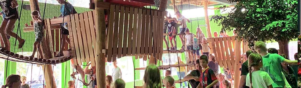 Vernieuwd indoorspeelparadijs: Indoor Speelbos bij Landal Het Vennenbos