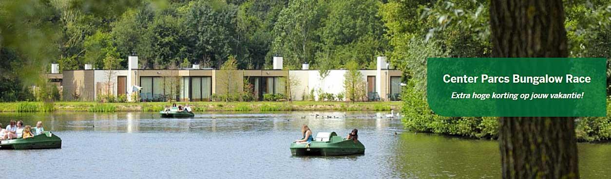 Heb jij ook zin in een heerlijke vakantie bij Center Parcs en dat je kunt genieten van zo'n prachtig uitzicht vanuit je cottage? Je kunt extra voordelig een cottage boeken met de Bungalow Race Actie.