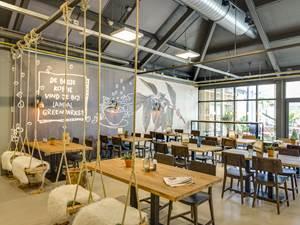 Het restaurant (Brasserie) van Landal Coldenhove heeft gratis Wifi internet