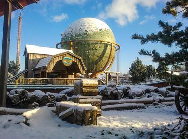 Geniet 3 dagen lang van Winter Slagharen. Het park ziet er extra mooi uit wanneer het gesneeuwd heeft