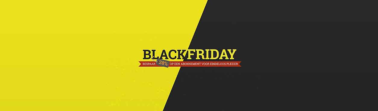 Slagharen Black Friday Actie 2019: Extra voordelig Slagharen abonnement