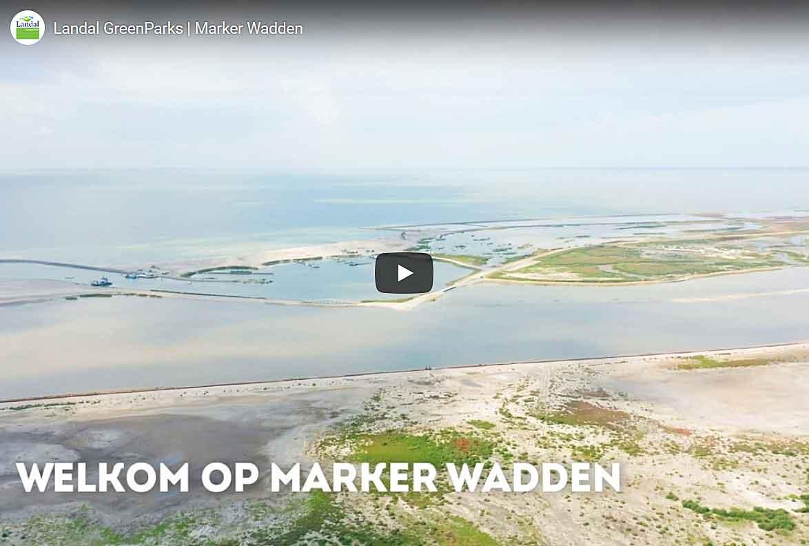 Video met een impressie van het Haveneiland, dat is het eiland waar de unieke eilandhuisjes op komen te staan van Landal GreenParks