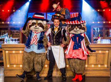 Randy & Rosie geven 's avonds een leuke show